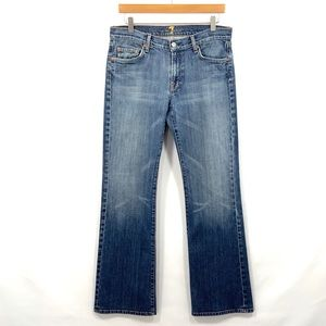 7 FOR ALL MANKIND Bootcut Jeans Size 32 E11